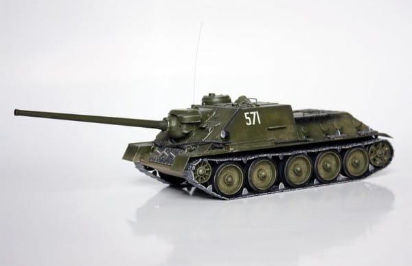 Сборная модель Звезда Самоходка СУ-100