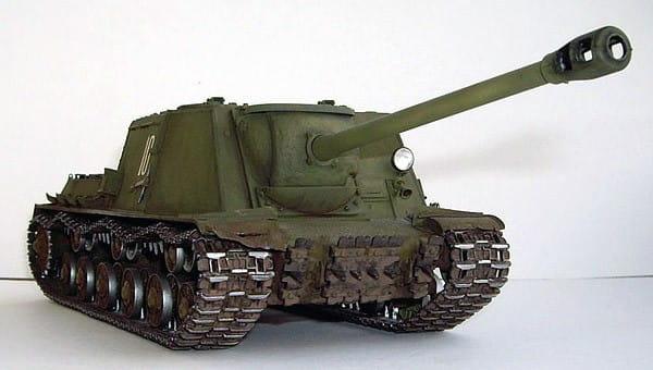 Сборная модель Звезда 3534з Советский истребитель танков ИСУ-122