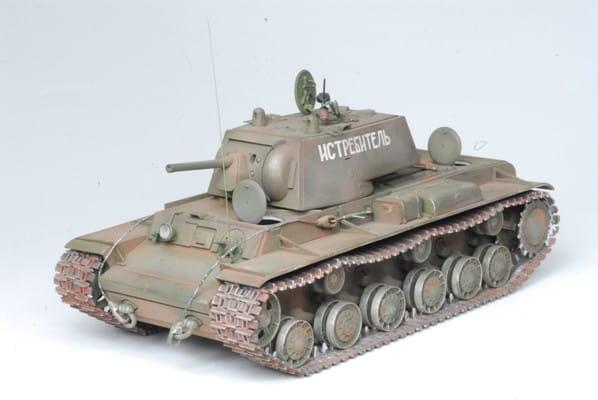 Сборная модель Звезда Тяжелый советский танк КВ-1