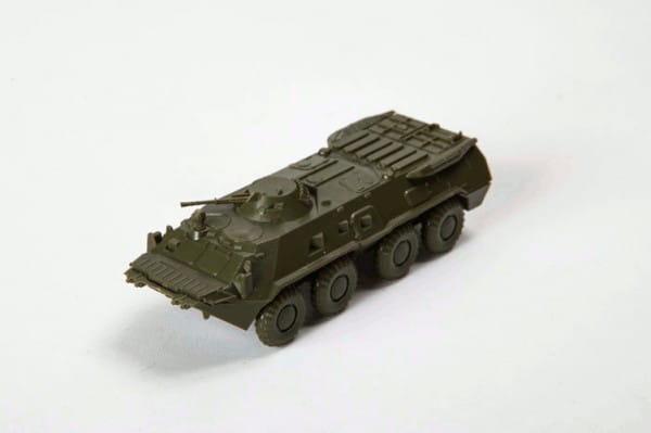 Сборная модель Звезда Советский БТР-70 с башней МА-7