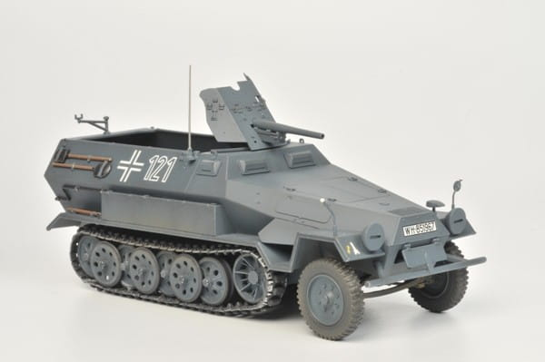 Сборная модель Звезда 3588з Немецкий БТР Ханомаг с 37-мм орудием