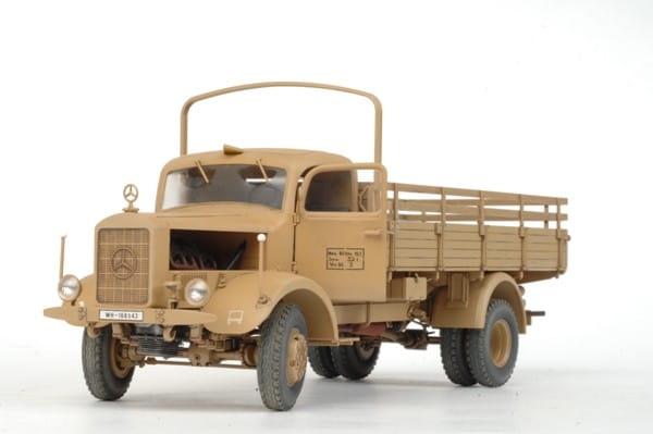 Сборная модель Звезда Немецкий грузовик L4500A