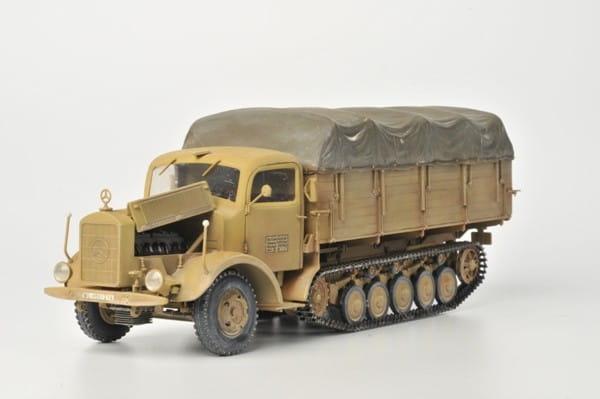 Сборная модель Звезда Автомобиль Мерседес-Бенц 4500 Маультир 1:35
