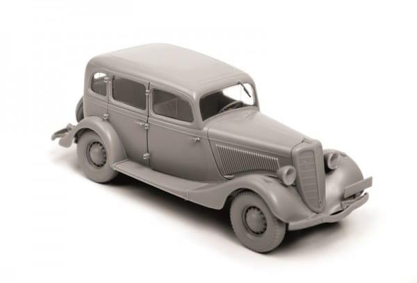 Сборная модель Звезда Советский автомобиль ГАЗ М1
