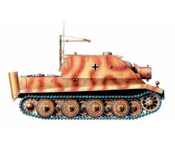 Сборная модель Звезда Немецкое штурмовое орудие Штурмтигр