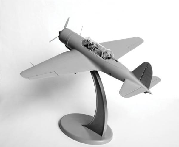 Сборная модель Звезда Самолет СУ-2
