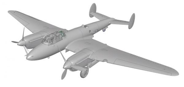 Сборная модель Звезда Советский бомбардировщик ПЕ-2