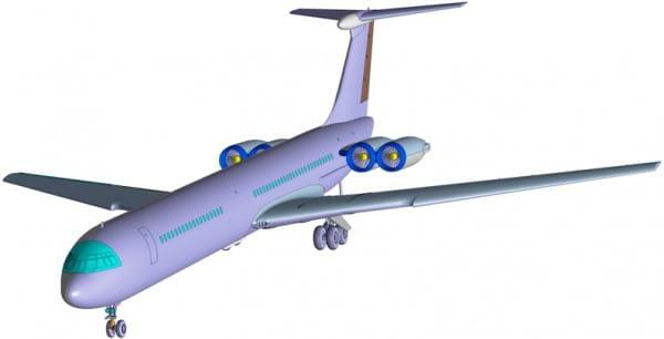 Сборная модель Звезда 7013з Советский пассажирский авиалайнер ИЛ-62М