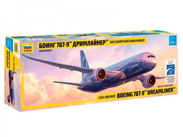 Сборная модель Звезда Самолет Боинг 787-9