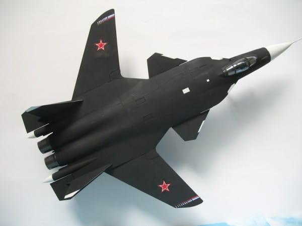 Подарочный набор Звезда 7215П Самолет СУ-47 Беркут