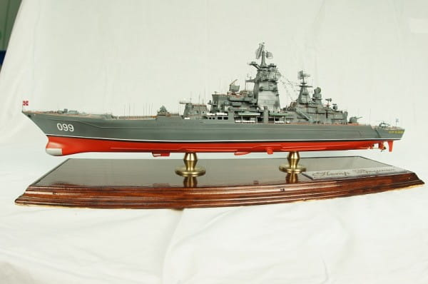 Сборная модель Звезда Корабль Крейсер Петр Великий