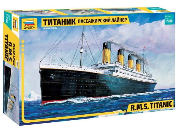 Купить Сборная модель Звезда Пассажирский лайнер Титаник в интернет магазине игрушек и детских товаров