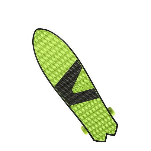 Купить Трехколесный скейтборд EXY Sharker - салатовый в интернет магазине игрушек и детских товаров