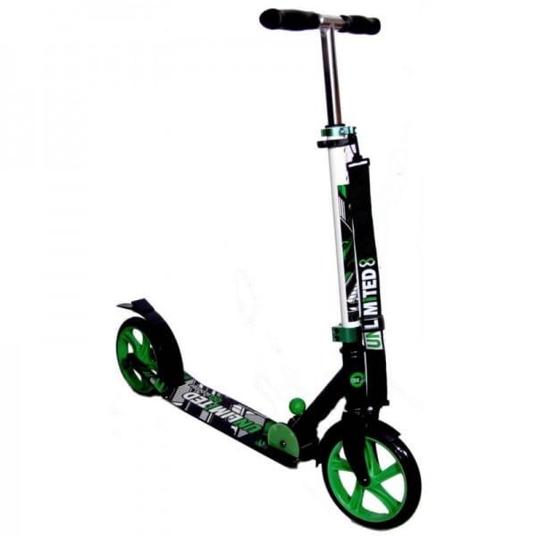 Детский самокат Unlimited NL100-205 - зеленый