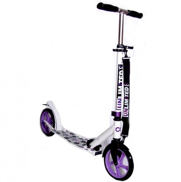 Детский самокат Unlimited NL500 R - фиолетовый