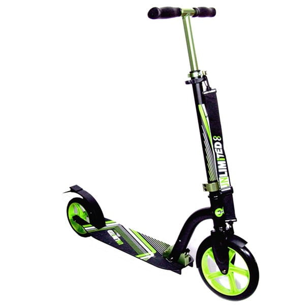 Детский самокат Unlimited NL300 R - зеленый