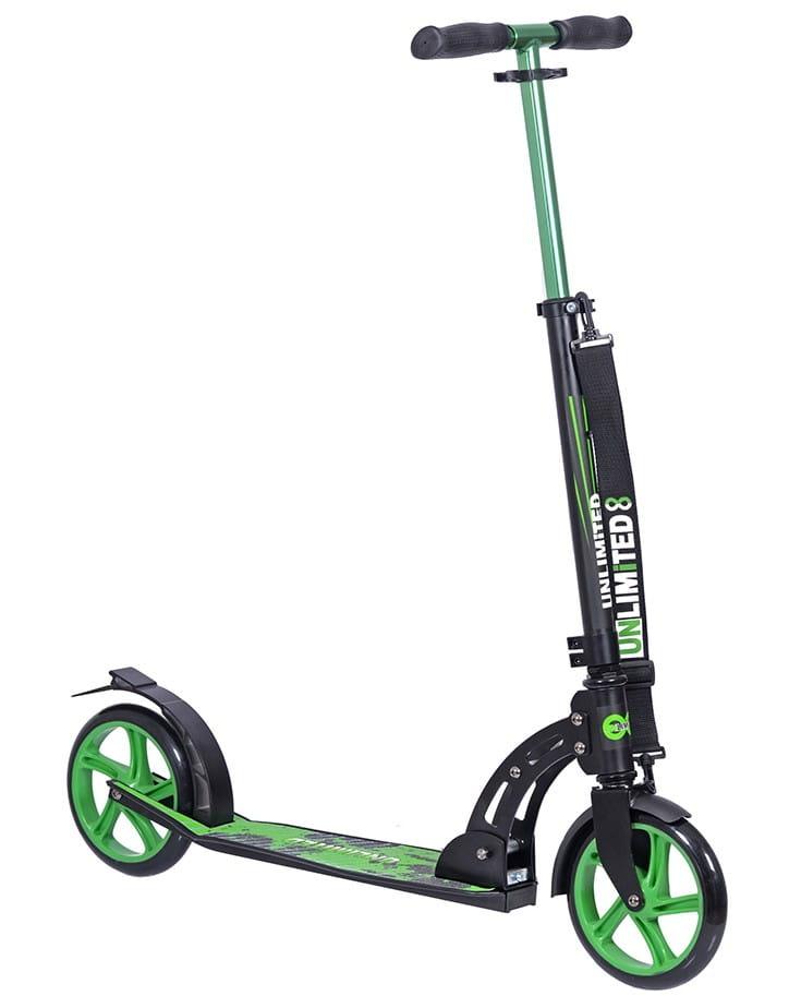 Детский самокат Unlimited ОВ-2104 NL260-205 - зеленый