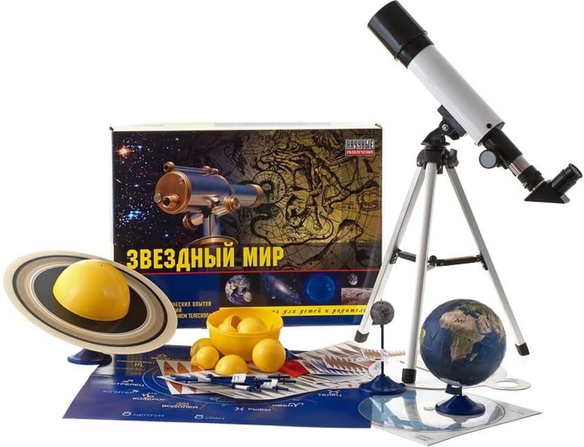 Набор для опытов Научные развлечения НР00009 Звездный мир (80 опытов)