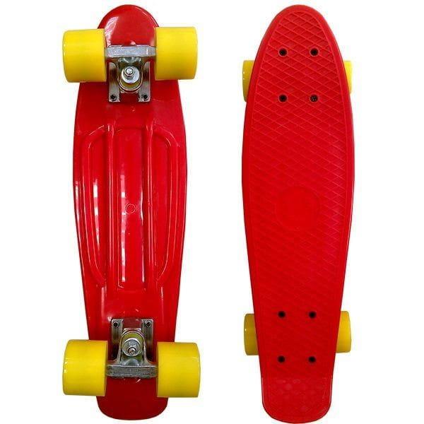 Купить Скейтборд Ecobalance - красный в интернет магазине игрушек и детских товаров