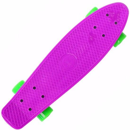 Купить Скейтборд Shark 27 TLS-402 - фиолетовый в интернет магазине игрушек и детских товаров