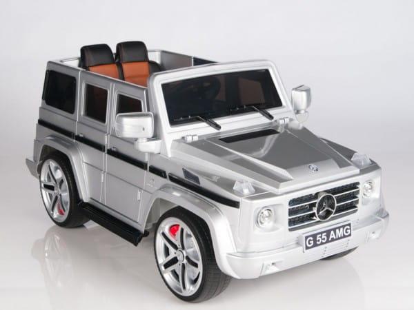 Купить Радиоуправляемый электромобиль Rastar Mercedes Benz G55 Silver в интернет магазине игрушек и детских товаров