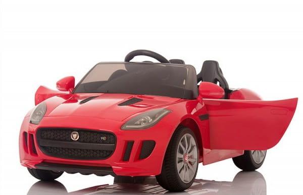 Купить Радиоуправляемый электромобиль Rastar Jaguar RS-3 Red в интернет магазине игрушек и детских товаров