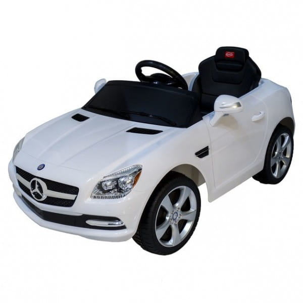Купить Радиоуправляемый электромобиль Rastar Mercedes SLKWhite CLASS в интернет магазине игрушек и детских товаров