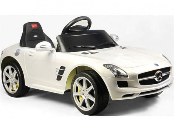 Радиоуправляемый электромобиль Rastar RAS-81600-W Mercedes-Benz SLS AMG White