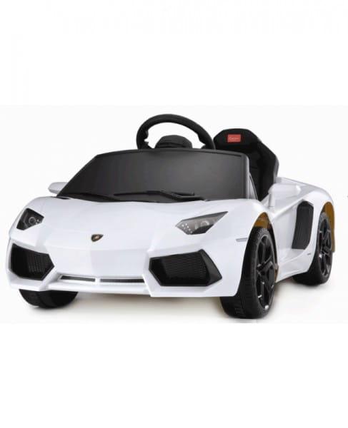 Радиоуправляемый электромобиль Rastar Lamborghini Aventador LP White