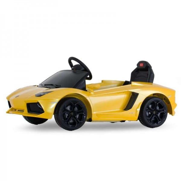 Радиоуправляемый электромобиль Rastar RAS-81700-Y Lamborghini Aventador LP Yellow