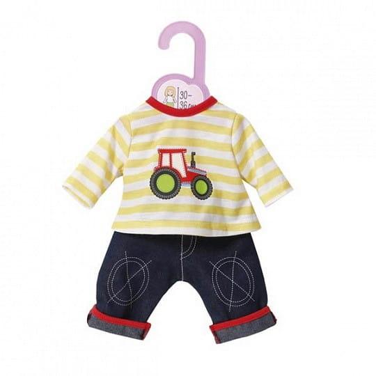 Купить Одежда Zapf Creation для кукол высотой 30-36 см (на вешалке) в интернет магазине игрушек и детских товаров