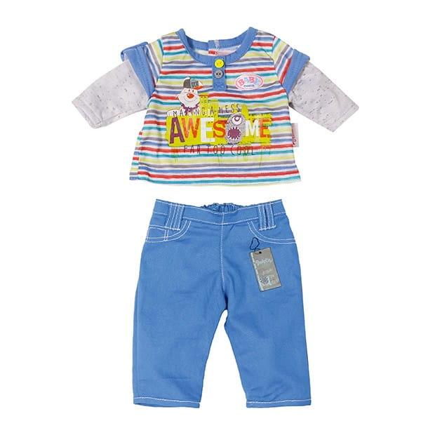 Стильная одежда для мальчиков Baby born 2 (Zapf Creation)