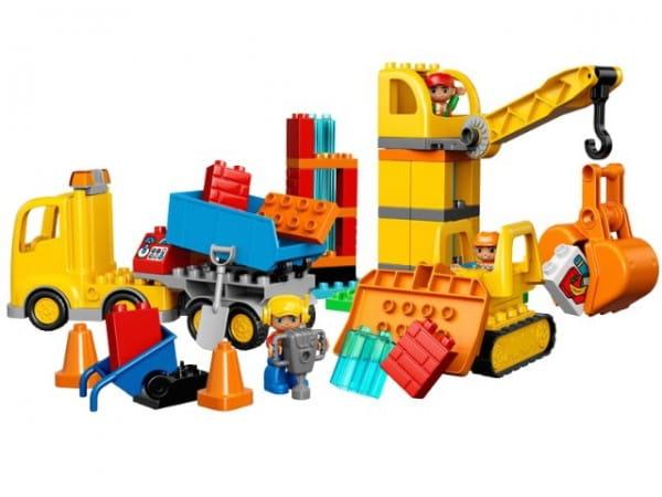 Купить Конструктор Lego Duplo Лего Дупло Большая стройплощадка в интернет магазине игрушек и детских товаров