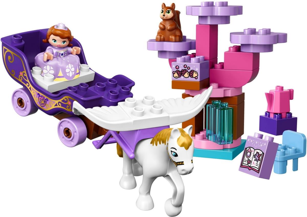 Конструктор Lego 10822 Duplo Лего Дупло Волшебная карета Софии Прекрасной