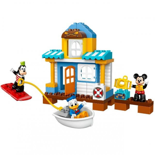 Купить Конструктор Lego Duplo Лего Дупло Домик на пляже в интернет магазине игрушек и детских товаров