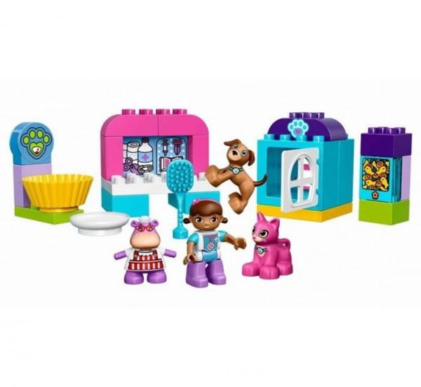Купить Конструктор Lego Duplo Лего Дупло Ветеринарная клиника доктора Плюшевой в интернет магазине игрушек и детских товаров