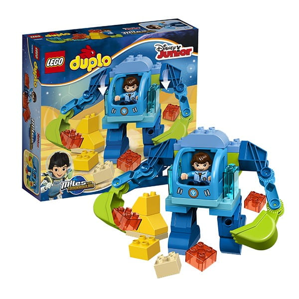 Купить Конструктор Lego Duplo Лего Дупло Экзокостюм Майлза в интернет магазине игрушек и детских товаров