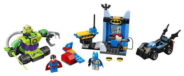 Купить Конструктор Lego Juniors Лего Джуниорс Бэтмен и Супермен против Лекса Лютора в интернет магазине игрушек и детских товаров