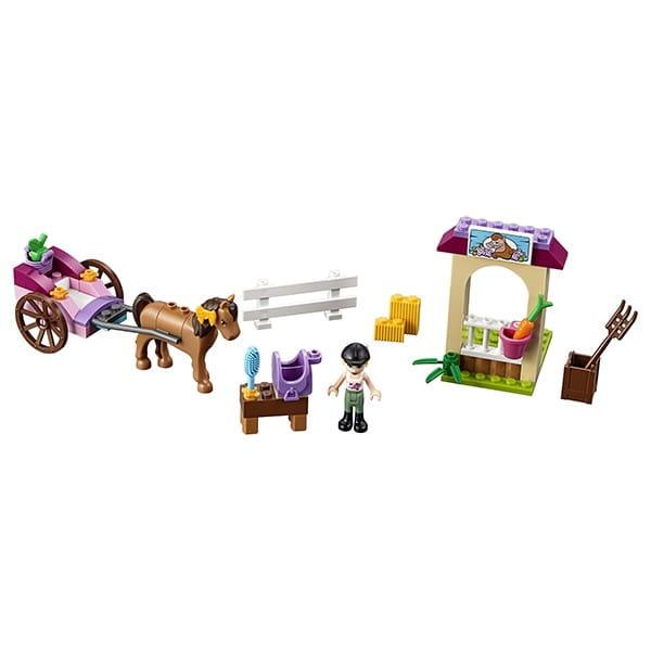 Купить Конструктор Lego Juniors Лего Джуниорс Карета Стефани в интернет магазине игрушек и детских товаров
