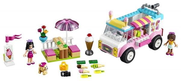 Купить Конструктор Lego Juniors Лего Джуниорс Грузовик Эммы с мороженым в интернет магазине игрушек и детских товаров