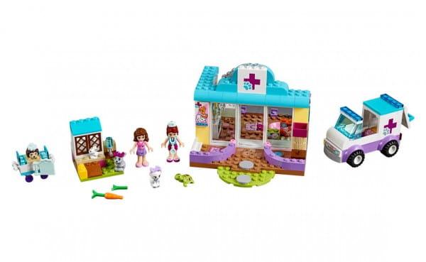 Конструктор Lego Juniors Лего Джуниорс Ветеринарная клиника Мии