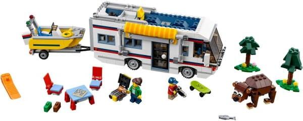 Конструктор Lego Creator Лего Криэйтор Кемпинг