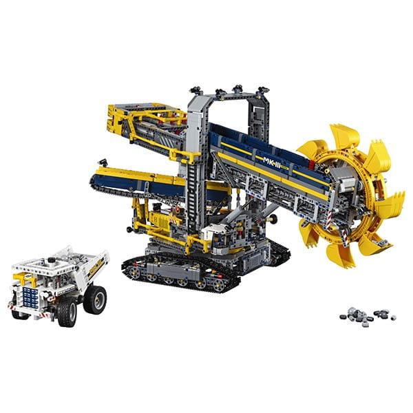 Конструктор Lego 42055 Technic Лего Техник Роторный экскаватор