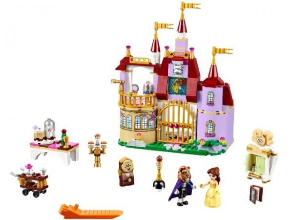 Купить Конструктор Lego Disney Princesses Лего Принцессы Дисней Заколдованный замок Белль в интернет магазине игрушек и детских товаров