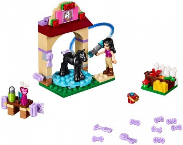 Купить Конструктор Lego Friends Лего Подружки Салон для жеребят в интернет магазине игрушек и детских товаров