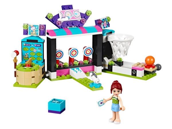 Купить Конструктор Lego Friends Лего Подружки Парк развлечений - игровые автоматы в интернет магазине игрушек и детских товаров