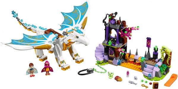 Купить Конструктор Lego Elves Лего Эльфы Спасение Королевы Драконов в интернет магазине игрушек и детских товаров