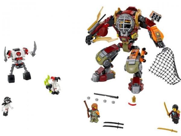 Конструктор Lego Ninjago Лего Ниндзяго Робот-спасатель