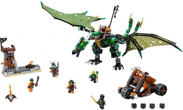 Конструктор Lego Ninjago Лего Ниндзяго Зеленый дракон