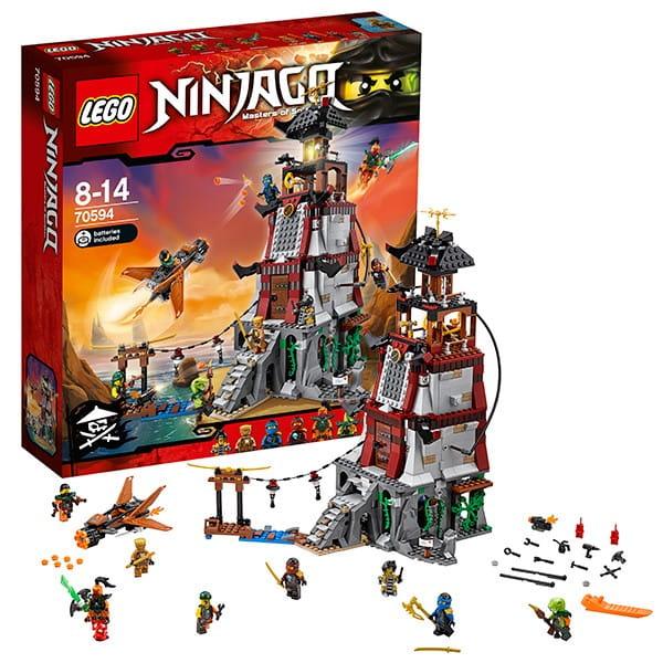 Конструктор Lego Ninjago Лего Ниндзяго Осада маяка